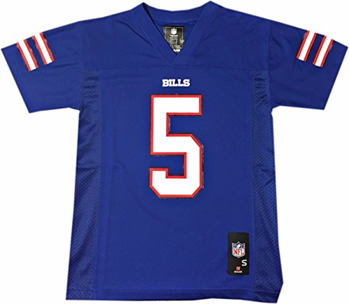 Tyrod Taylor Buffalo Bills Blue Youth Home Mid Tier Jersey (Large 14/16)