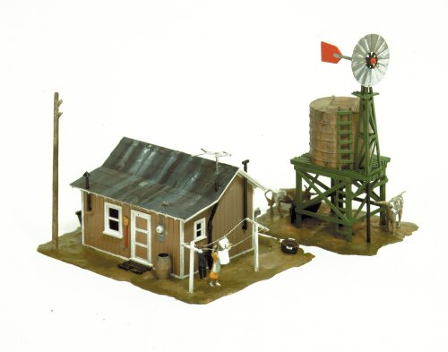 Life-Like Trains  HO Scale Building Kits - Western Homestead