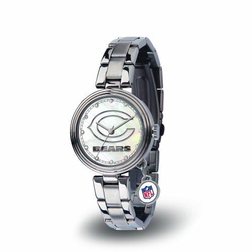 Logo Gametime Watch - NFL Chicago Bears Charm Watch, Silver