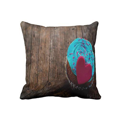 AoLian CYW Love Dessert On Wood Pillow case 18 in by AoLian CYW (Image #1)