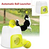 ABS Automatic Pet Dog Launcher Tennis Ball Toy Interactive Fetch Chucker Thrower