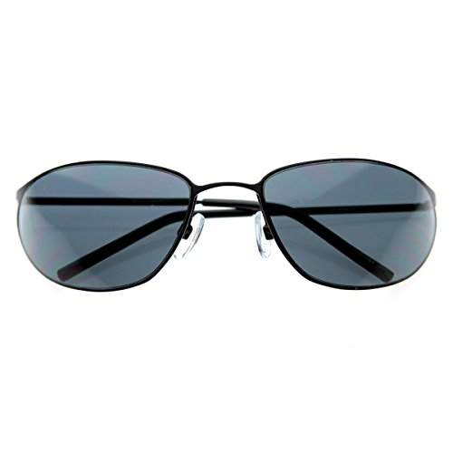 zeroUV - Matrix NEO Metal Wire Frame Glasses Movie Inspired Sunglasses - Neo Glasses