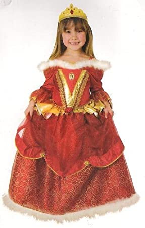 Deluxe Disney Princess Belle Beauty The Beast Fancy Dress 5 7yrs