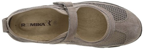 Beige Womens 02 17202 Leather Strap Womens Sandal Traveler Sandal Traveler Strap Romika Leather 02 17202 Romika ZpA1f