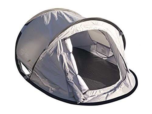 Flip Pop Instant Set Up Nylon 2 Person Tent with Rain Fly and Sturdy Carry Bag - by Front Runner