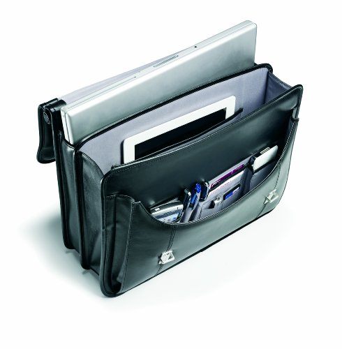 Samsonite Leather Flapover Briefcase ★ Best Value ★ Top