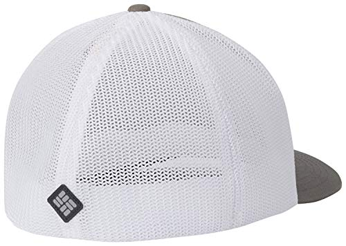 - Columbia Men's Mesh Ballcap, titanium, color Weld, Large/X-Large