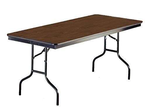 ucts 630EF-WLNT High Pressure Laminate/Plywood Seminar Table, 30