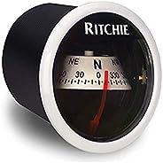 "Ritchie Navigation X-21WW 2"" White Dash Mount Co"