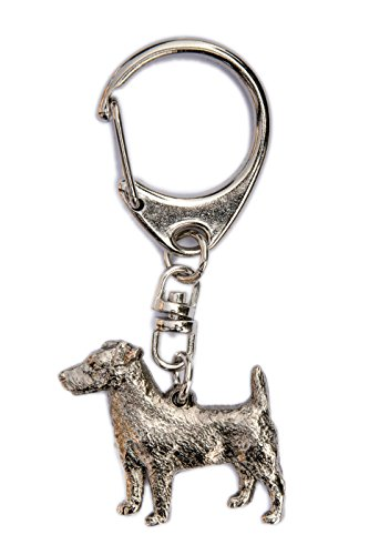 Jack Russell Terrier Made in U.K Artistic Style Dog Key Ring Collection