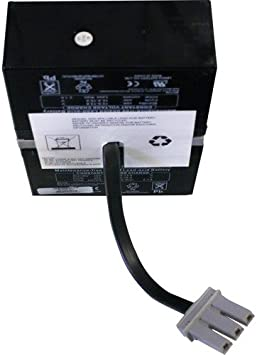 APC Back-UPS RS 1200VA BR1200 New RBC32 Compatible Replacement Battery Pack by UPSBatteryCenter