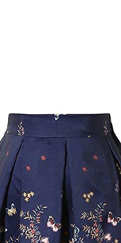 CHICING - Falda - plisado - para mujer Azul