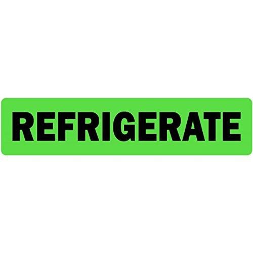 Refrigerate Medical Labels LV-MPSR25