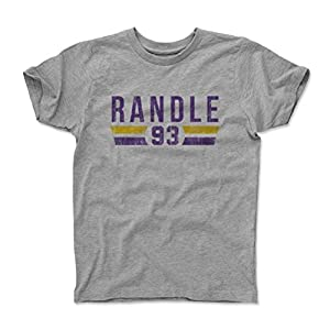 500 LEVEL's John Randle Kids Shirt - Vintage Minnesota Football Fan Gear - John Randle Font