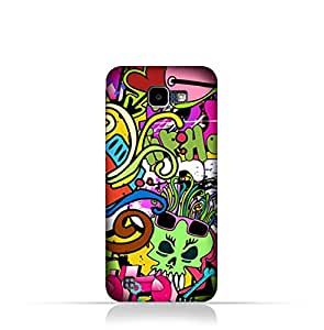 LG K4 2016 TPU Silicone Case with Graffiti Hip Hop Design