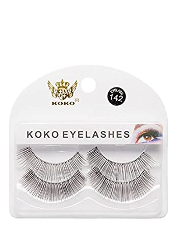 5b1f5a97274 Ladies 2 Set Human Real Hair Eye Lashes Extentions Glam Glue on Home Use  Lash Kit: Amazon.co.uk: Health & Personal Care