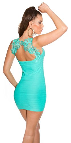 In - Stylefashion - Vestido - ajustado - Sin mangas - para mujer Green turquoise