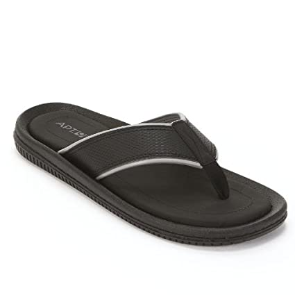 5621acacfeb9 Amazon.com  Apt. 9 Black Thong Sandals - Men  Everything Else