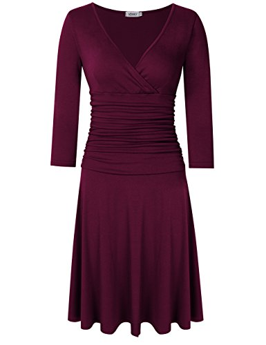 dress with ruched waist - 9
