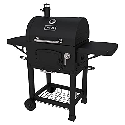 Dyna-Glo Heavy-Duty Charcoal Grill with Cast Iron Grates by GHP-Group Inc
