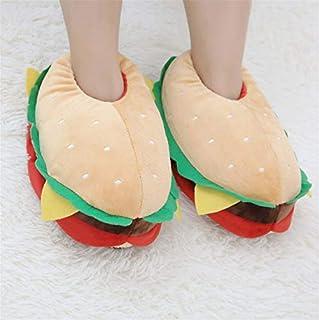 Image of Funny Hamburger Slippers for Women