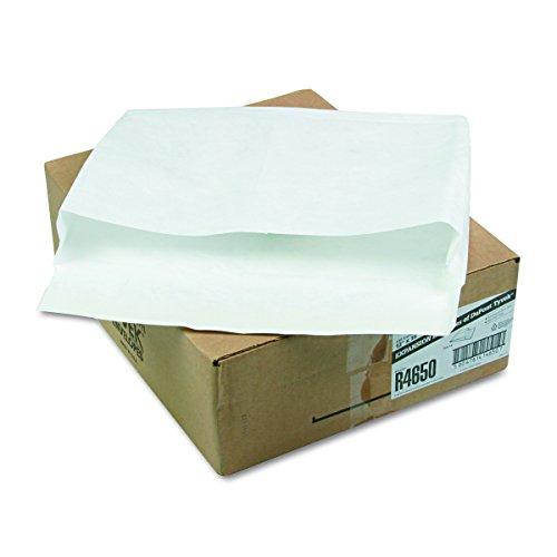 Tyvek Window - Survivor R4650 Tyvek Booklet Expansion Mailer, 12 x 16 x 2, White (Case of 100)