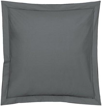 Blanc des Vosges - Funda de cojín, algodón, algodón, carbón, 65 x 65 cm: Amazon.es: Hogar