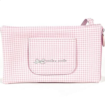 Pasito a pasito 73598 - Funda para toallitas, diseño vichy rosa petite etoile: Amazon.es: Bebé