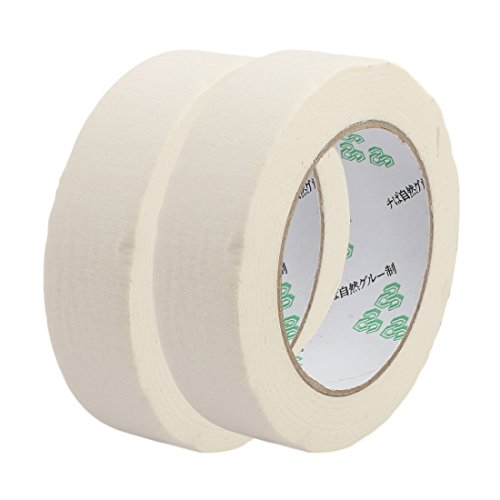 uxcell 2PCS 3cm Width Adhesive Paper Painting Writing Decoration Tape White 50M Length by uxcell