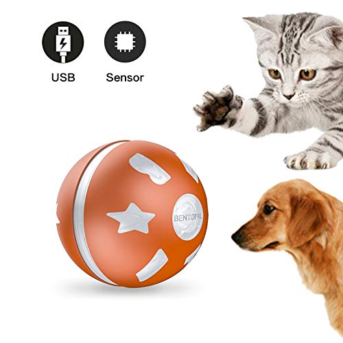 WendyMom Motion Activated Cat Toy Interactive Ball, Catch The Chick, Small
