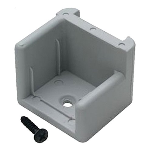 T. H. Marine DS-1L-DP Pontoon Door Stop - Left (Pontoon Gate Latch)