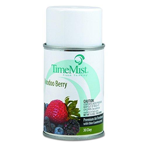 - TimeMist 1042727 Metered Aerosol Fragrance Dispenser Refills, Voodoo Berry, 5.3 oz (Case of 12)