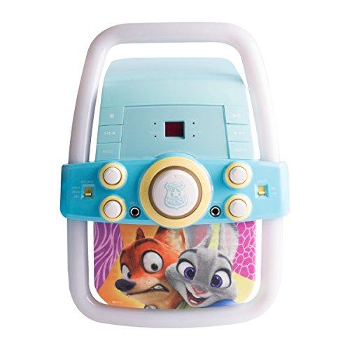 Zootopia Karaoke Player Music Set, One Microphone Included, KO2-03129