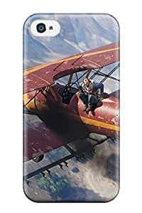 Travers-Diy Fashionable Design Grand Theft Auto V Rugged pGrRBpPj5Nl case cover For Iphone 4/4s New