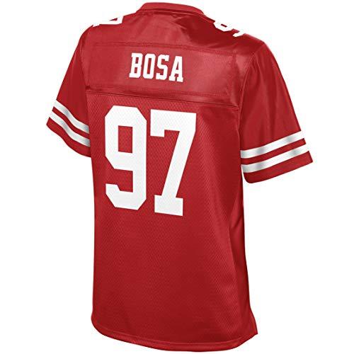 - Intuit Fast Women Nick_Bosa_97_Scarlet Fans Replica Jersey Sportswear Custom Football Game Limited Elite Legend Jerseys