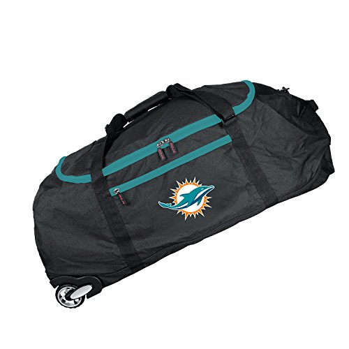 - NFL Miami Dolphins Crusader Collapsible Duffel, 36-inches