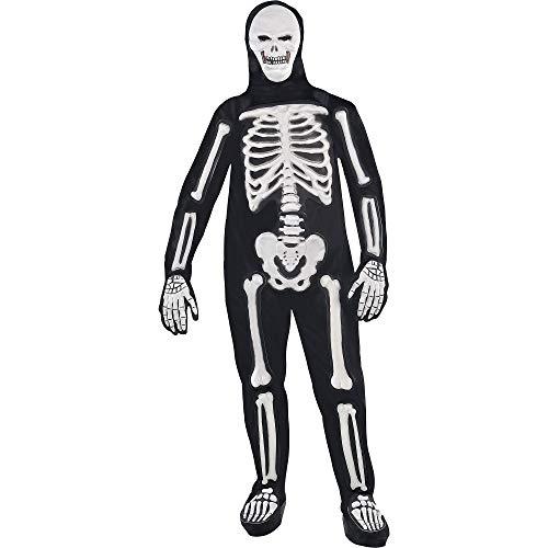 Frightening Bones   Creepy Halloween Costume   Plus XXL (48-52)]()