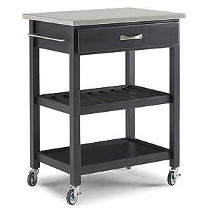 Home Styles 5216-95 Natural Designer Utility Cart-Parent