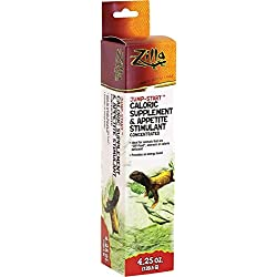 Zilla Reptile Health Supplies Jump-Start Appetite Stimulant, 4.25-oz.