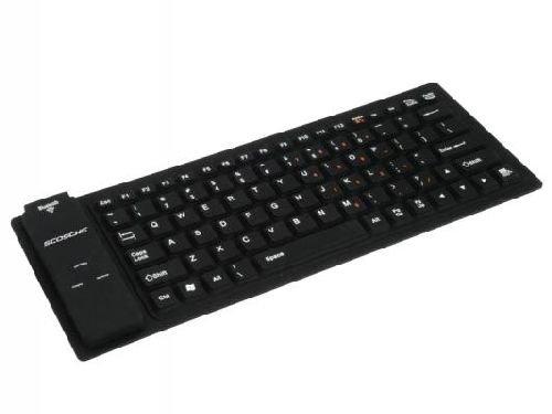 Scosche BTKB freeKEY Bluetooth Mini Keyboard - Retail Packaging - Black