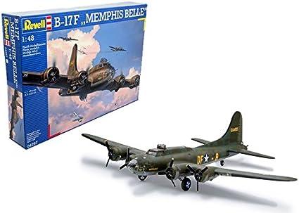 Revell 04297 B-17F Memphis Belle Flying Fortress Model Kit