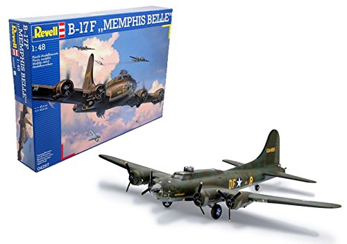 Fortress Flying Bomber B-17g - Revell Germany B-17F Flying Fortress Model Kit