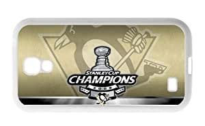 Accurate Store NHL Pittsburgh Penguins logo Samsung Galaxy S4 TPU Case Cover