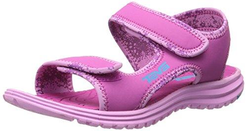 Teva Tidepool Kids Sport Sandal (Toddler/Little Kid/Big Kid), Pink/Blue, 5 M US Big Kid
