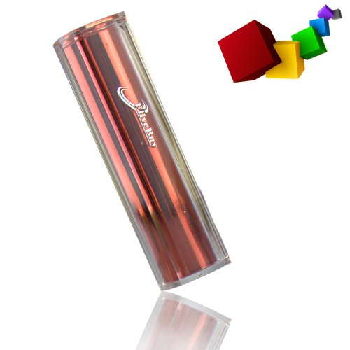 Elivebuy-Red-Lip-Gloss-2500mah-Universal-Mobile-USB-Portable-Power-Bank-Charger-5v-1a-Output-for-Apple-Iphone-5-4s-4-3gs-3g-Ipod-Touch-Samsung-Galaxy-S3-S-S2-S-Ii-Galaxy-Nexus-Blackberry-Torch-Bold-Cu