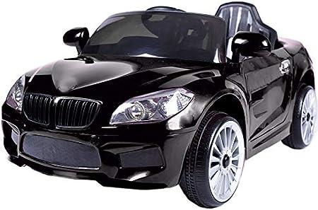 ATAA Coche eléctrico niños con Mando y batería 12v Estilo BMW X5 12v Coche eléctrico para niños Barato - Negro