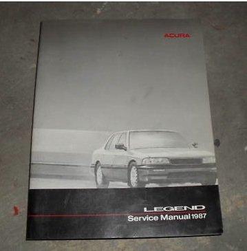 Acura Legend Service Manual 1987 - Acura Legend Transmissions