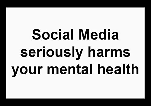 ly Harms Your Mental Health Sticker Decal Window Bumper Sticker Vinyl 5