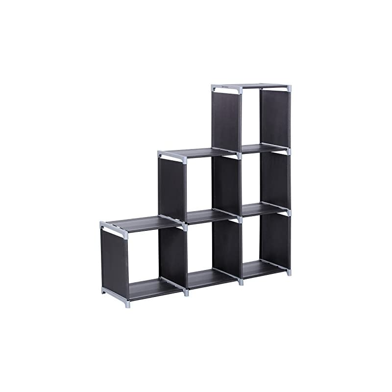 SONGMICS 3-tier Storage Cube Closet Orga
