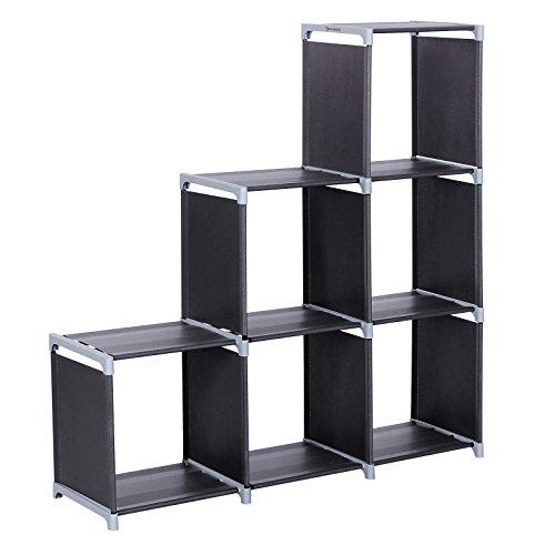 Amazon Com Songmics 3 Tier Storage Cube Closet Organizer